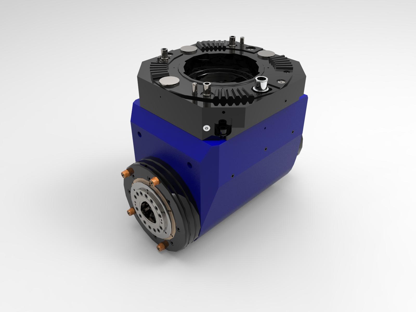 TESTA 90° CAPTO C8 - 3.000 rpm - 900 Nm - Cod.19022A040